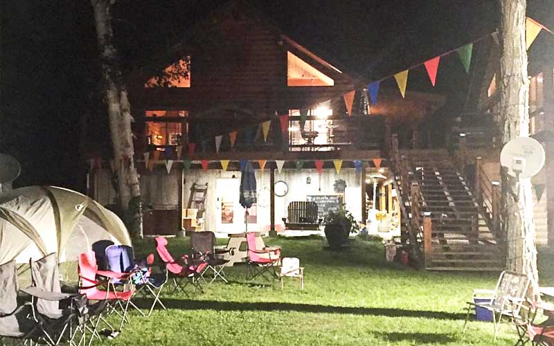 Cottage rentals and partying