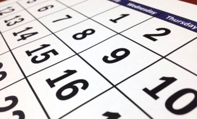 Calendars: to publish or not to publish?