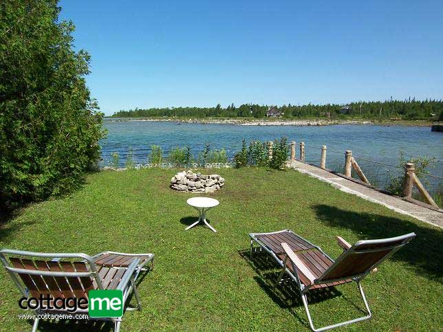 Lake Huron Private Sandy Cove Waterfront Cottage picture3